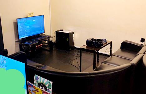 テーブルVRスペース