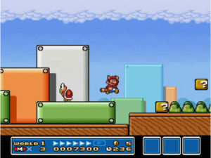 スーパーマリオコレクションのマリオブラザーズゲームプレイ画面