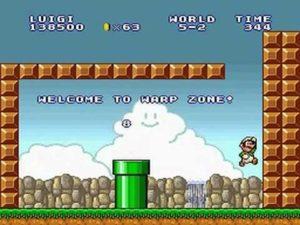 スーパーマリオコレクションのマリオブラザーズ2ゲームプレイ画面
